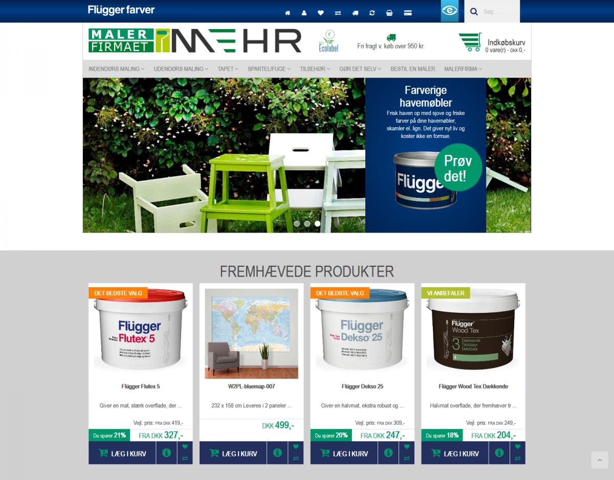 Fritlægning af produktbilleder til webshops